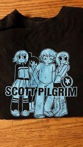 Scott pilgrim Shirt VTG Rare graphic novel Retro XL