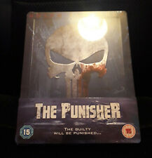 The Punisher Dolph Lundgren Embossed Blu Ray Steelbook UK