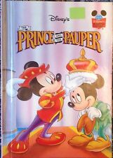 Disneys Prince and the Pauper Wonderful World Of Reading Grolier Book Club New
