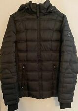 Nautica Women's Puffer Jacket Water Resistant Winter Black, Medium, Ship's Free