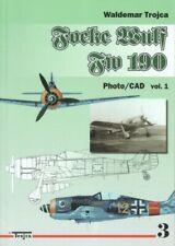 Trojca Focke Wulf FW 190 - Photo/CAD vol. 1