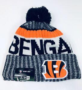 Cincinnati Bengals NFL Sideline Official Sport Knit Beanie New Era One Size $30