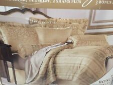 New 7 Piece Bedding Suite King Comforter Set $275 JCP Home Collection