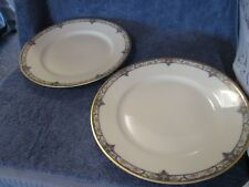 Theodore Haviland Limoges Dinner Plate Set of 2 Pink Roses Quite Nice