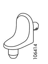 5x IKEA Shelf Pins Pegs Supports  Part # 106414
