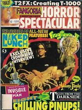 1992 Fangoria Horror Spectacular #6 T2 Nacked Lunch Addams Family Tales Darkside