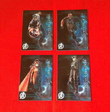 Marvel Avengers - Age of Ultron - Database - Lot of 4 Trading Cards    a