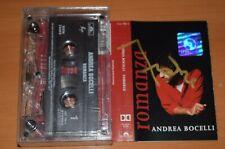 AUTOGRAFO ANDREA BOCELLI - Romanza - MC Cassette official polish tap HAND SIGNED