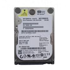 """Western Digital 120GB WD1200BEVS-22UST0 5400RPM SATA 2.5"""" Laptop HDD Hard Drive"""