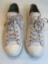 CONVERSE ALL STAR, WHITE LEATHER. SIZE UK 5, EUR 37.5