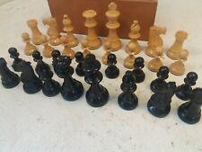 Boxed Staunton Design Boxwood Chess Set