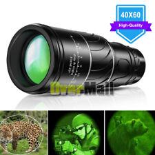 Day/Night 40x60 Military Zoom Powerful Binoculars Optics Hunting Camping+Case