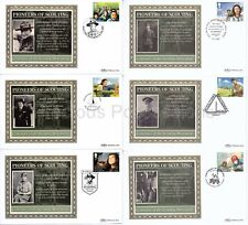 BS64-649 BENHAM SILK 2007 FIRST DAY COVERS SET FDC PIONEERS OF SCOUTING