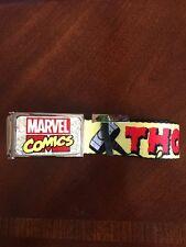 Avengers Mighty Thor Buckle Down Belt Marvel Comics Brand New (0075)