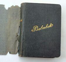 1904 SVENSKA PSALMBOKEN Stockholm SWEDISH Sweden PSALM Book RELIGIOUS Miniature