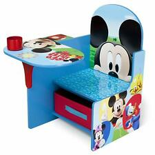 Chair Desk w/ Storage Bin - Mickey Mouse Design - for 3-6 years
