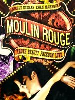 Moulin Rouge DVD 2-Disc Set 2011 Musical / Film * Nicole Kidman & Ewan McGregor