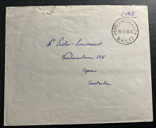 1956 Belgium Forces Military Post Office In Germany cover