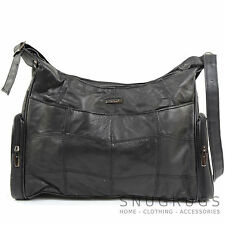 Ladies / Womens Soft Nappa Leather Casual Handbag / Shoulder Bag