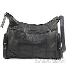 Ladies / Womens Soft Nappa Leather Casual Handbag / Shoulder Bag