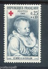 FRANCE 1965 timbre 1466, CROIX ROUGE, neuf**