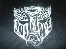 New Transformers Mens Black Trans Formers T-Shirt Size XL