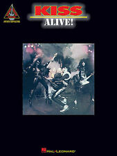 KISS - ALIVE GUITAR TAB BOOK- ACE FREHLEY- PAUL STANLEY