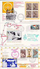 VATICAN ITALY COLOMBIA COVERS POPE TRAVELS 1968