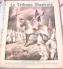 LA TRIBUNA ILLUSTRATA 29 agosto 1948 Klu Klux Klan contro Truman Cocteau Dongo