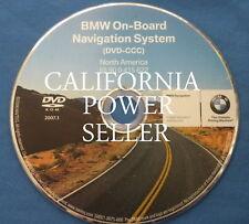 BMW NAVTEQ ON BOARD NAVIGATION DVD 2007.1 65900415622 CD MAP DISC NORTH AMERICA
