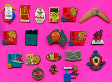 2000 SYDNEY OLYMPIC PIN BADGE PICK A PIN 1-2-3- BUY THEM ALL 19 PINS GROUP #3