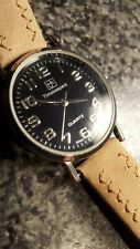 Timekeepers Black Dial Japanese Movement 33mm Ladies