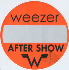 Weezer 2001-02 Tour Backstage Pass Aso