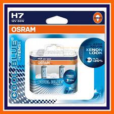 2X Osram Cool Blue Intense H7 12V Xenon Look 4000k Abblendlicht VW GOLF 4 5 6 7