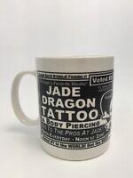 Linyi Silver Phoenix Brand Coffee Tea Mug Cup Jade Dragon Tattoo Chicago