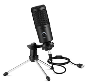 USB Microphone Professional Condenser Microphones For PC Computer Laptop