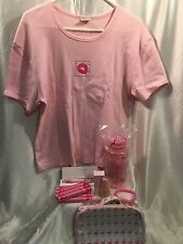 "RARE! Avon ""Kiss Goodbye to Breast Cancer"" T-shirt, Crusade Watch, and More!"