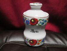 Kalocsa Porcelain Bors Jar-