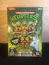 NECA SDCC 2020 TMNT Musical Mutagen Tour Bundle ?XL? Limited Edition Con Turtle