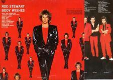 "Rod Steward : Body Wishes - Vinile 33 giri e 12"" - 1983"