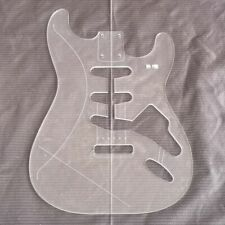 Electric Guitar Transparent Acrylic Template Making Molds ST style