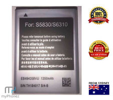 Battery for Samsung Galaxy EB494358VU Gio GT-S5660 GT-S5660V Young S6310T S5830