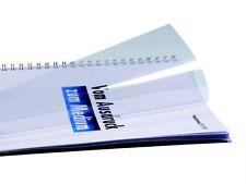 Copertine lucidità diapositive, DIN a4, PVC, trasparente, vetro chiaro, 0,20 mm Forte