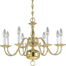 Progress Lighting Americana Eight-Light Chandelier - P4357-10