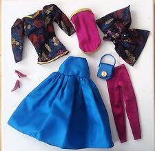 "Vintage Barbie Superstar Spectacular Fashions 1984 ""Elegante Kombinationen"" RAR"
