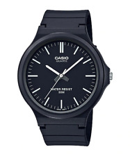 CASIO MW-240-1E Genuine NEW Black Casual Analogue Watch Classic FREE SHIPPING