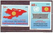 Kyrgyzstan 1993 Independence and Admission to ONU MNH