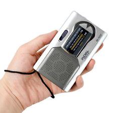 AM/FM World Receiver Telescopic Antenna Battery Powered Outdoor Portable Radio