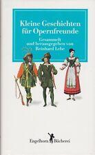 Kleine Geschichten für Opernfreunde (illustriert)   um 1990