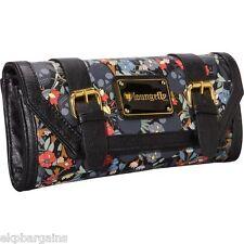 NWT Loungefly Skull Flower Garden Clutch Wallet Purse Handbag W012